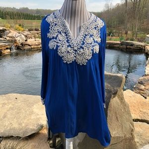 Chico's tunic made in India